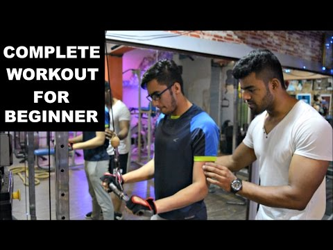 Workout For Beginners   Complete Beginners Guide To Gym
