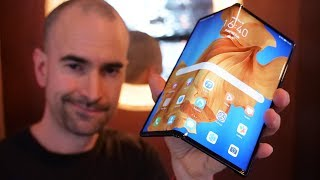 Huawei Mate Xs - Hands-on Review - Galaxy Fold Killer?