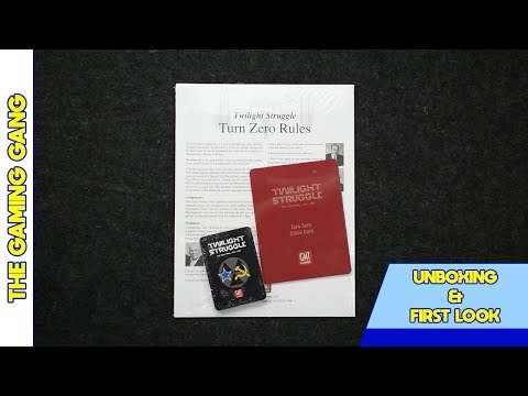 Twilight Struggle: Turn Zero Expansion - First Look