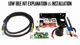 Complete Low Idle Kit Explanation & Installation: Lincoln SA-200 Arc Welder