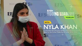 EFS Young Leaders Forum with Nyla Khan (Part B)