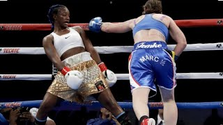 CLARESSA SHIELDS VS FEMKE HERMANS FULL FIGHT HBO SIGN OFF SHOW