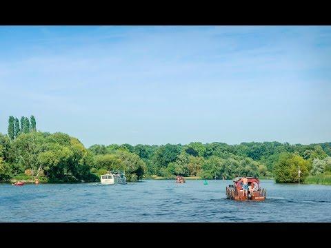 Mit dem Floß durch die Potsdamer Kulturlandschaft