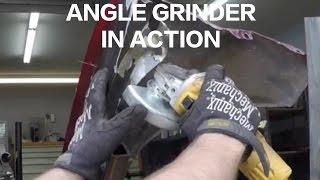 How To Use Angle Grinder SAFELY