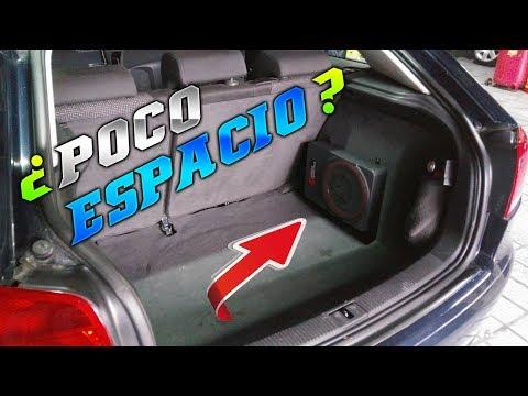 SUBWOOFER AMPLIFICADO PARA POCO ESPACIO / PRUEBA
