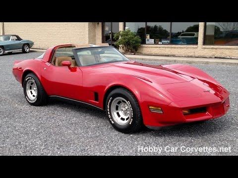 1981 Red Corvette 4spd Video