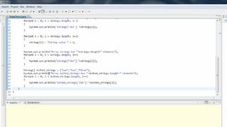 How to Declare an Array & Allocate in Java : Useful Computer Tips