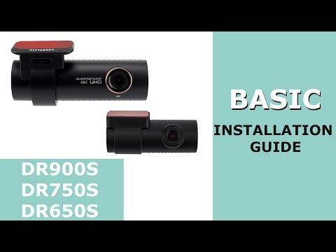 BlackVue DR750S/DR650S Basic Install