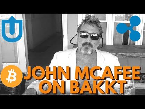 John McAfee on Bakkt | Uptrennd | Bitcoin Pizza Important? Ripple XRP in More Banks - BTC news
