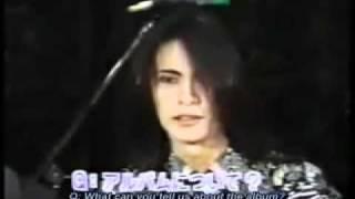Buck-Tick - Aku No Hana Interview 1 (English Subtitles)