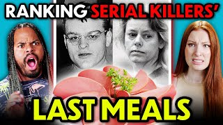 Ranking and Trying Serial Killers Last Meals | People Vs. Food