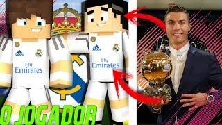 Minecraft: O JOGADOR (The Journey) - CR7 ME CONVIDOU PARA JOGAR NO REAL MADRID ?!? #03