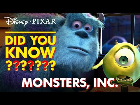Monsters, Inc. Fun Facts and Easter Eggs | Disney•Pixar