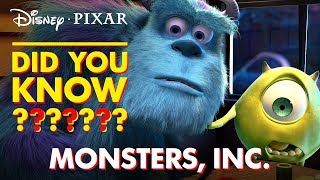 Monsters, Inc. Fun Facts and Easter Eggs | Disney•Pixar - Video Youtube