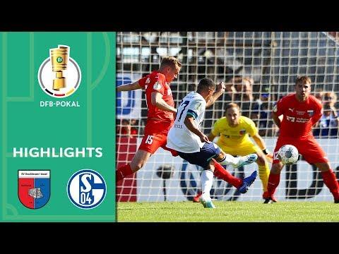 Successful Wagner debut | Drochtersen/Assel vs. Schalke 04 0-5 | Highlights | DFB Cup | 1st Round
