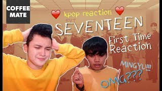 FIRST TIME REACTING TO KPOP: SEVENTEEN | COFFEEMATE