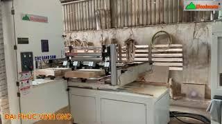 MÁY CƯA LỌNG CNC WOODMASTER 1500mm tại cty Minh Phát 2
