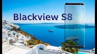 Blackview S8 промо обзор нового безрамочного смартфона