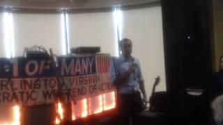Tom Perriello Speaks to Arlington Dems (1/22/17)