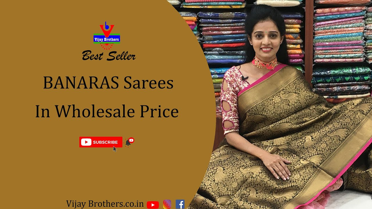 """<p style=""""color: red"""">Video : </p>Latest Banaras Saree Collections 