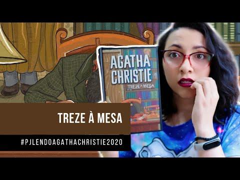 Treze à Mesa (#PJLENDOAGATHACHRISTIE2020) Livro 18 | DE LIVRO EM LIVRO