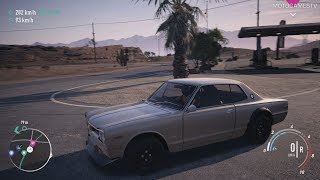 Need for Speed Payback - Offroad Nissan Skyline 2000GT-R Abandoned Car - Location and Customization