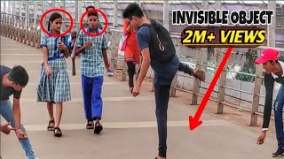 INVISIBLE ROPE PRANK😱😂|| IN INDIA || BY HILARIOUS TRENDS
