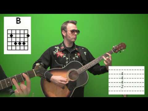Acoustic Guitar Lesson - Major Tabs Chords and Charts