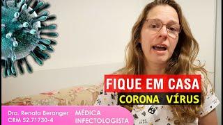Fique em casa! Coronavírus