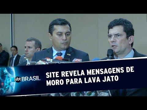 Site revela mensagens de Moro para acusadores da Lava Jato
