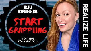 Need to know THIS! (for FIRST BJJ ROLL) Brazilian Jiu-Jitsu Grappling Beginner Tips to Start Rolling