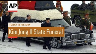 King Jong Il State Funeral - 2011 | Today In History | 28 Dec 17