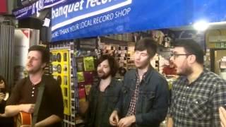 Futureheads - Meet Me Half Way (a capella) - at Banquet Records