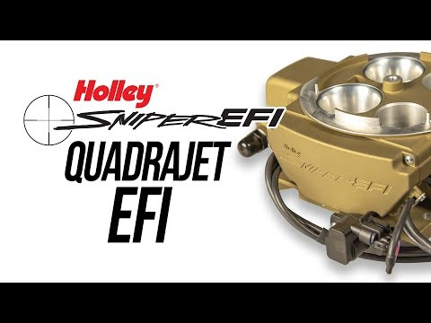 Holley Sniper EFI Quadrajet