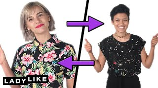 Devin And Jen Swap Clothes For A Day • Ladylike