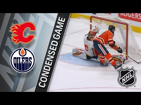 01/25/18 Condensed Game: Flames @ Oilers