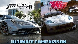 NFS Payback vs Forza Horizon 3 Ultimate Comparison