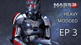 Let's play Mass Effect 3 Modded -Hardcore - Vanguard - Episode 3 - Palaven