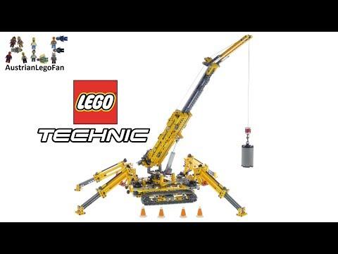 Vidéo LEGO Technic 42097 : La grue araignée