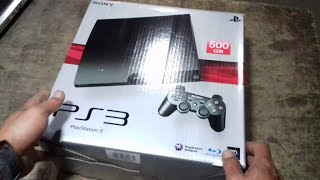 Unboxing Ps3 Slime CFW 500GB ANTI YLOD