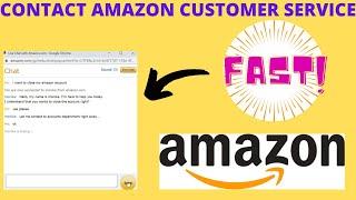 How To Contact Amazon Customer Service | Close Amazon Account UK / US (2020)