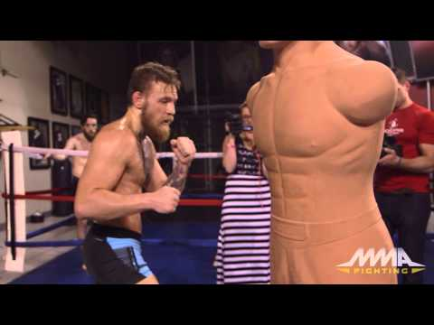 Conor McGregor UFC 187 Workout Highlight