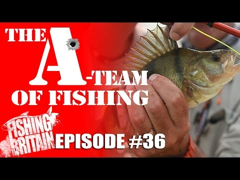The A-Team of Fishing – Fishing Britain, episode 36