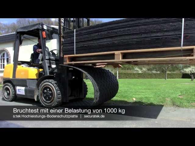 s:tek 36 · Hochleistungs-Bodenschutzplatte
