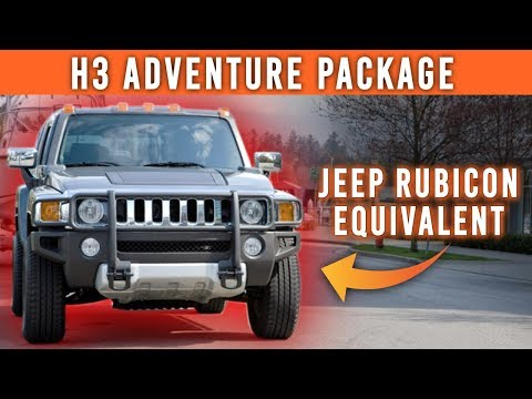 The Hummer H3 Adventure Package (Watch Before Buying A Hummer H3)