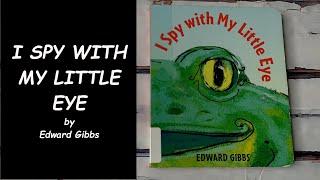 Read Aloud Book- I Spy with My Little Eye