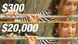 Can You Hear the Difference Between a Cheap and Expensive Flute?