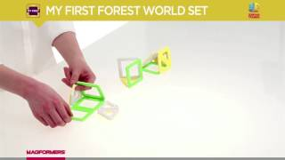 MAGFORMERS MY FIRST FOREST 32PC SET