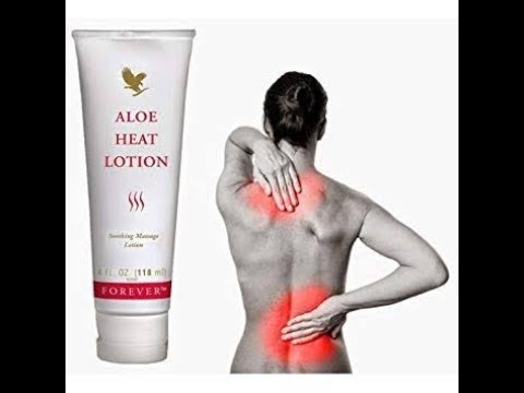 Benefit aloe heat lotion || forever heat lotion the ultimate pain relief formula ||aloe heat lotion
