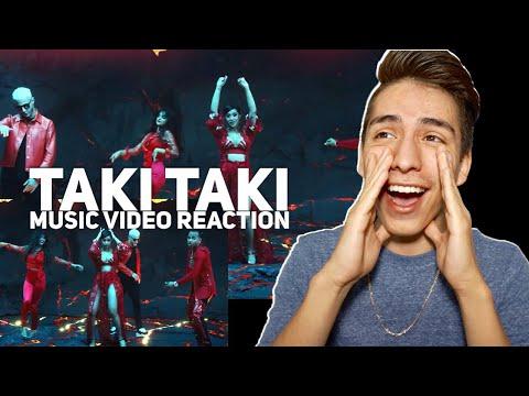 DJ Snake-Taki Taki ft Selena Gomez, Ozuna, Cardi B (Official Video) Reaction| E2 Reacts
